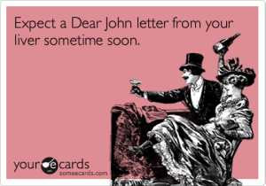 Dear John, source: someecards.com