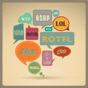 Common English abbreviations used in everyday communication